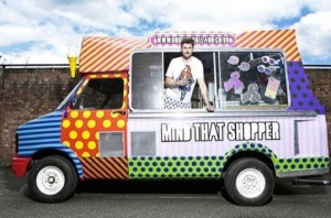 Fashion truck or food truck
