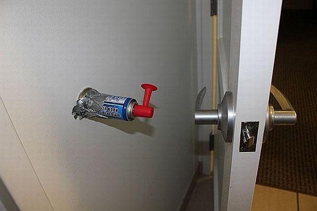 air horn door stop
