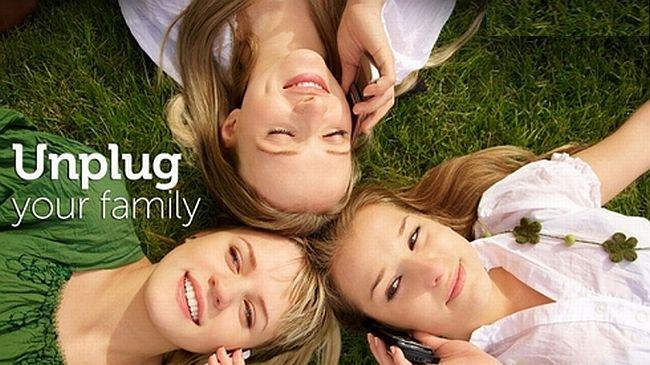 unplug family