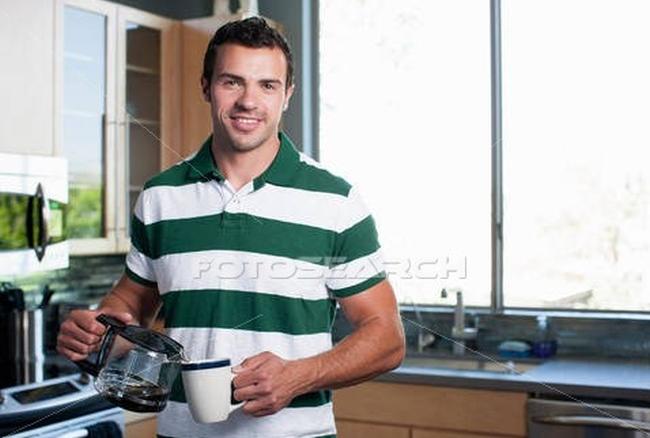 coffee pot man