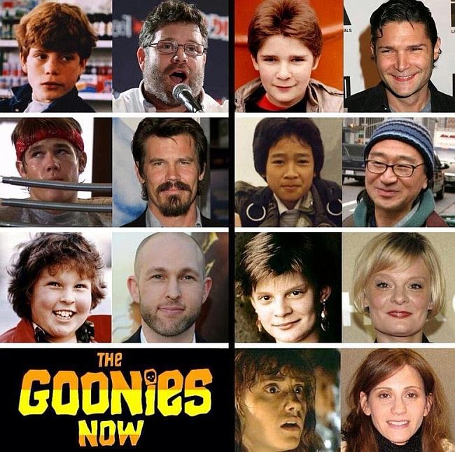 goonies then and now